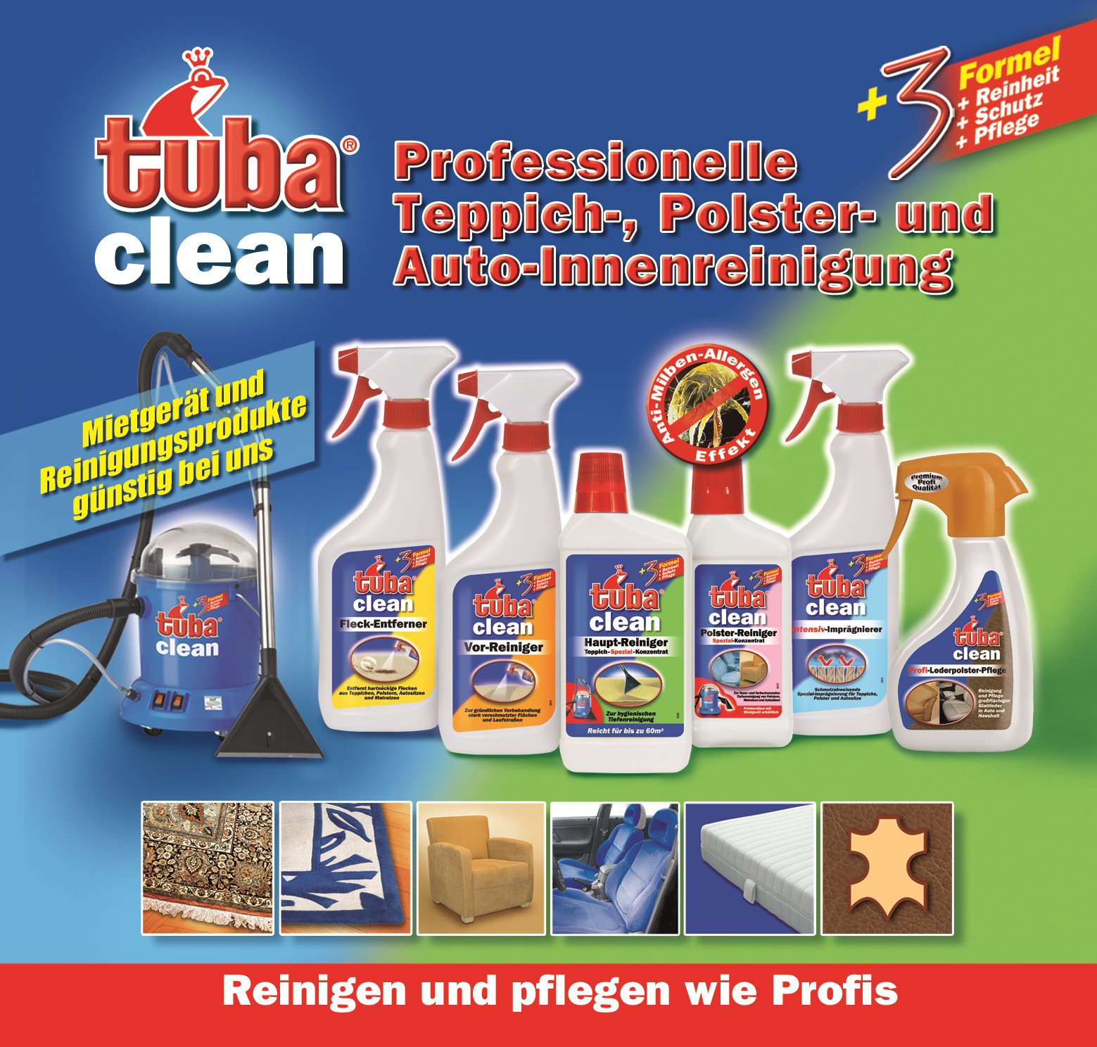 Partnerangebot Tuba Clean